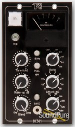 TK Audio BC501 500-Series Stereo Compressor Demo/Open Box