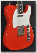 Michael Tuttle Standard Classic T Fiesta Red Electric Guitar