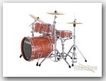 Sonor 5pc Ascent Studio Drum Set- Natural Gloss