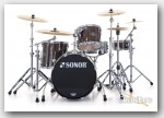 Sonor 4pc Ascent Jazz Drum Set- Dark Natural