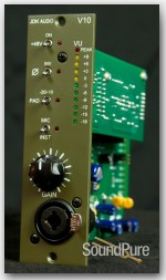 JDK Audio V10 - 500 Series Mic Preamp