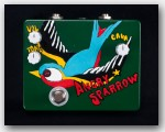 Flickinger Angry Sparrow Fuzz Pedal - Dark Green