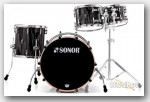 Sonor 4pc Prolite Studio Drum Set-Ebony White Stripes