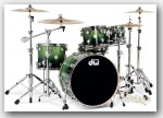 DW 5pc Collectors Series Maple Drum Set-Specialty Satin 22""