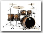 DW 6pc Collectors Series Maple Drum Set-Exotic 22""