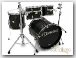 Noble & Cooley 4pc CD Maple Drum Set-Blackwash Oil