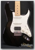 Suhr Classic Pro Black Tinted Maple Neck HSS Electric Guitar