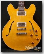 Collings I-35 LC Blonde Electric Archtop Guitar w/ ThroBacks