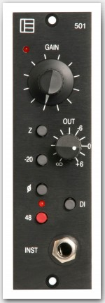 Pete's Place Audio 'Electrodyne 501' 500-series Preamp