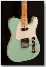 Michael Tuttle Tuned T Surf Green Electric Guitar - Used