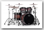 Mapex 4pc Saturn V MH Exotic Rock Shell Pack Transparent Ash