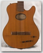 Buscarino Starlight Nylon String Maple Top Guitar - Used