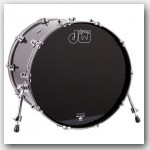 DW Performance Series 18x22 Bass Drum Gun Metal Metallic