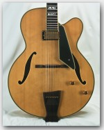 Peerless Monarch Spruce/Maple Archtop Guitar - Used