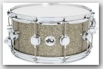 DW Collector's Series 6.5x14 Snare Drum Gold Galaxy