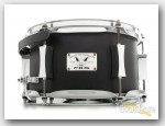 Pork Pie 6x10 Little Squealer Black Wrinkle Steel Snare Drum