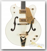 Gretsch 2010 G6136DC White Falcon Double Cutaway - Used