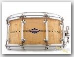 Craviotto 6.5x14 Curly Maple Custom Snare Drum Satin Finish