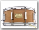 Pork Pie 6x14 Beech Snare Drum-Natural Gloss