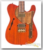 Suhr Classic T Trans Amber HH Electric Guitar #29903 - Used