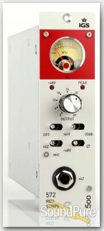 IGS 572 Red Stripe 500-Series Tube Preamp