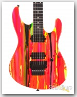 Suhr 80's Shred MKII Neon Drip Electric Guitar #JST6P8D