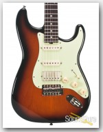 Michael Tuttle Tuned S 2-Tone Sunburst HSS Electric #408
