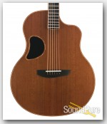 McPherson MG 4.5 Madagascar RW/Redwood Acoustic Guitar #2487