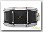 Noble & Cooley 6x14 Alloy Classic Snare Drum-Black/Chrome