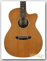 Goodall Macassar Ebony/Redwood Grand Concert #EGCC6579