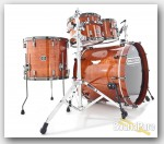 Noble & Cooley 4pc Horizon Drum Set-Honey Maple Gloss