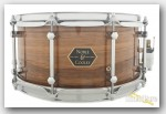 Noble & Cooley 6.5x14 Walnut Ply Snare Drum-Gloss/Chrome
