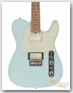 Michael Tuttle Tuned T Sonic Blue Electric Guitar #345