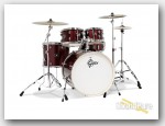 Gretsch Energy 5pc Drum Set w/ Hardware & Cymbals-Red