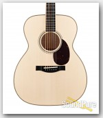 Santa Cruz OM Grand German Spruce/Flamed Maple Acoustic #327