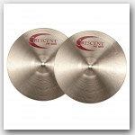 "Crescent 14"" Stanton Moore Fat Hats Hi Hat Cymbals Demo/Open Box"