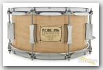 Pork Pie 6.5x14 Walnut Ply 30th Anniversary Snare Drum Demo/Open Box