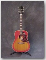 1968 Gibson Hummingbird, Excellent Condition, w/ Case, Color