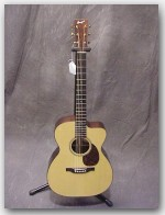 "USED Bourgeois Guitars, OMC,Rosewood, Color ""Natural"", Item # CSOMC"