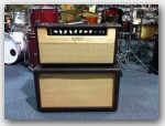 "Oldfield Amplifiers, Club Dlx SE Head & 1x12 Cabinet, color ""Brown Ostrich Tolex"", Item # DCS036"