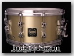 GMS Special Edition Series Bell Brass 7x14 Snare Drum