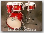 Gretsch USA Custom Maple Drum Set. Color: