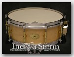 Noble & Cooley 5x14 Solid Shell Maple Snare. Color: