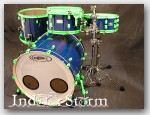 Orange County Drums 4pc Maple Shell Pack. OCDP Color: