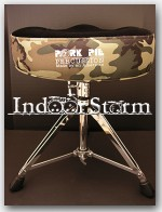 "Pork Pie Percussion Big Boy Drum Throne. Color:""Camouflage w/ Black"""