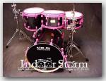 Pork Pie Percussion 4pc Maple Drum Set. Color: