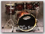 "RMV 6pc  Drum Set. Color:""Red Sparkle Wrap"""