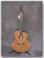 "Bourgeois Guitars, DB Petite Jumbo, Color ""Natural Redwood"", Item # GDB057"