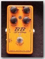 "Xotic Pedals, BB Preamp, Color ""Orange"", item  GEX04"