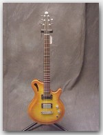 "Gadow Guitars, Custom Hollow, Color ""Honeyburst"", 5A Maple Top, Item # GGAD02"